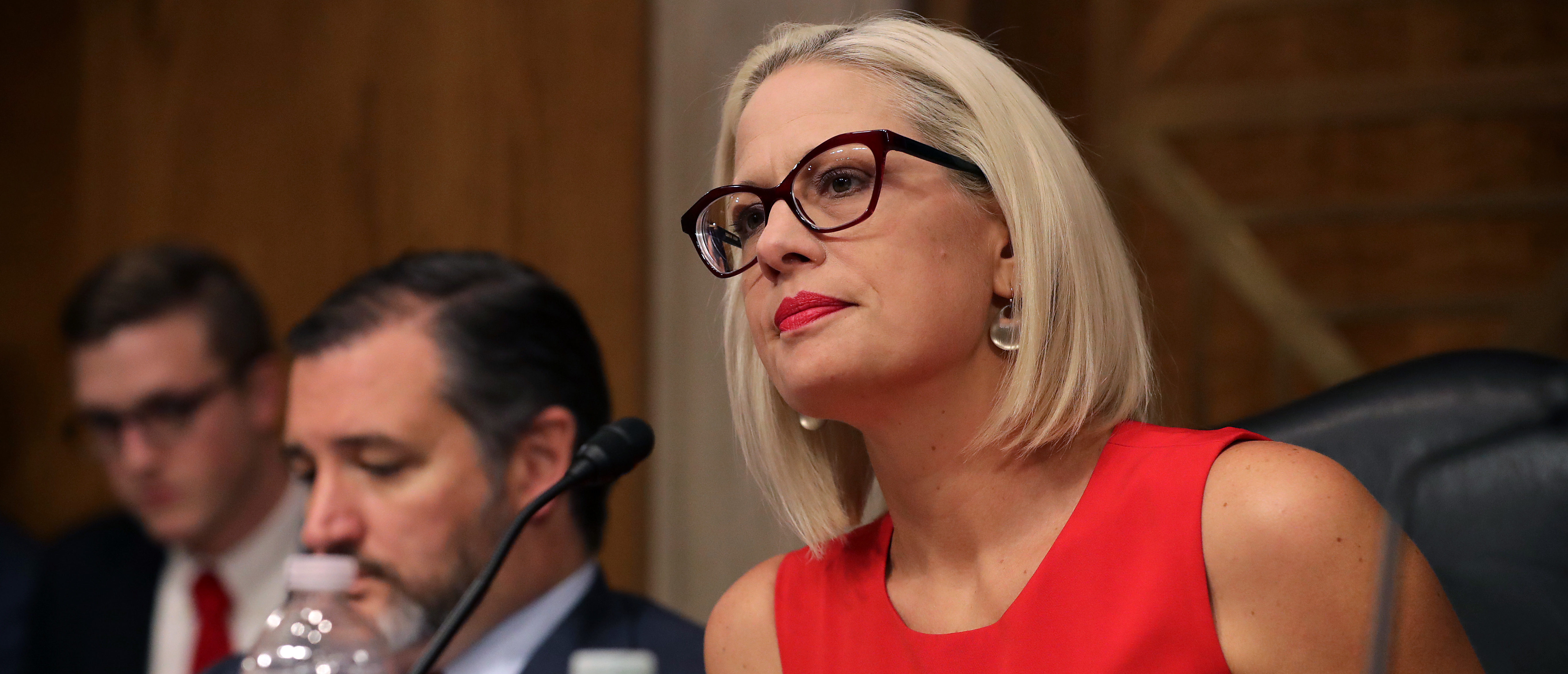 Kyrsten Sinema, Eight Other Senators Sign Letter To Speed Up Removal Of Certain Migrants   The Daily Caller