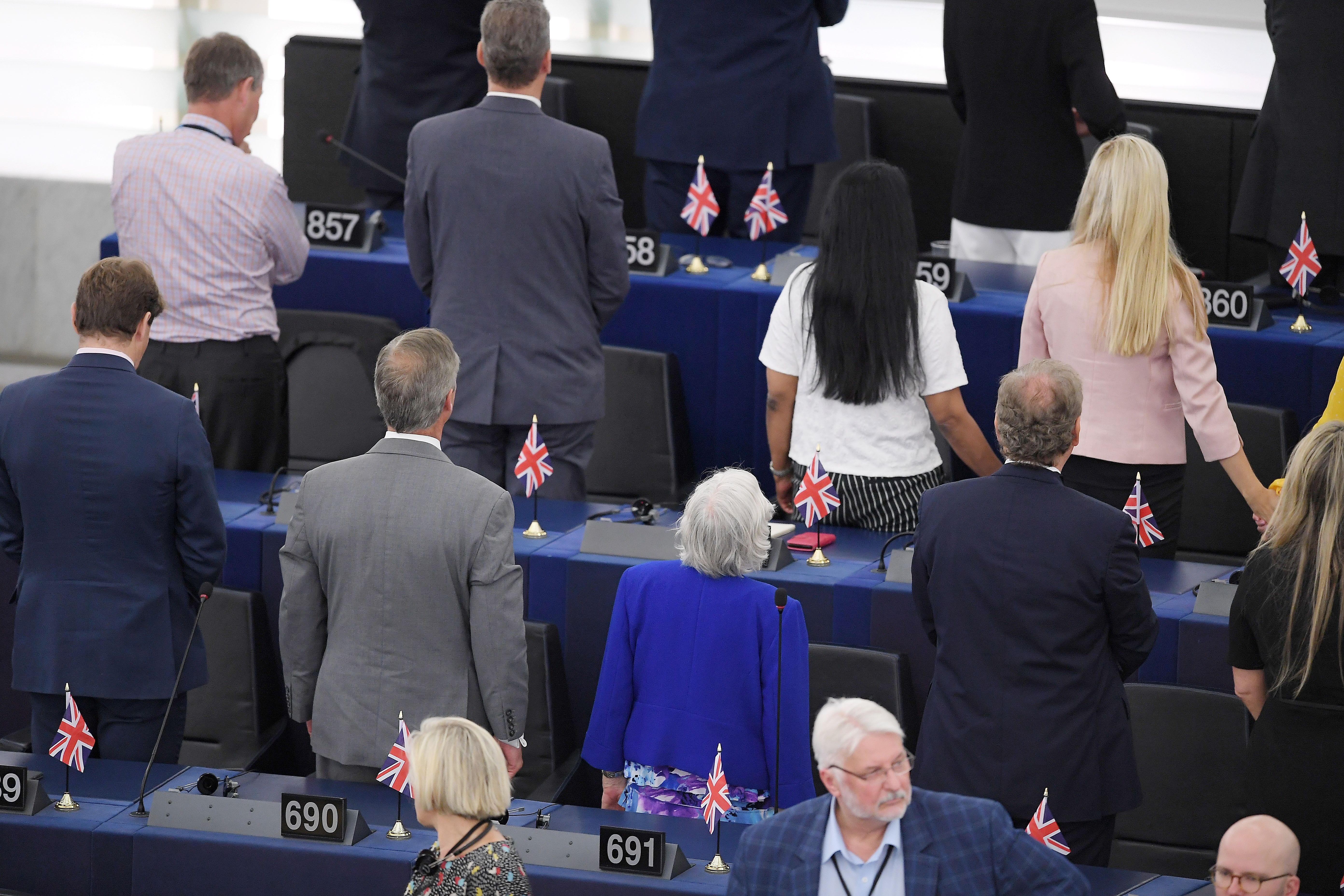 Farage's Brexit Party Turns Its Back On EU   The Daily Caller