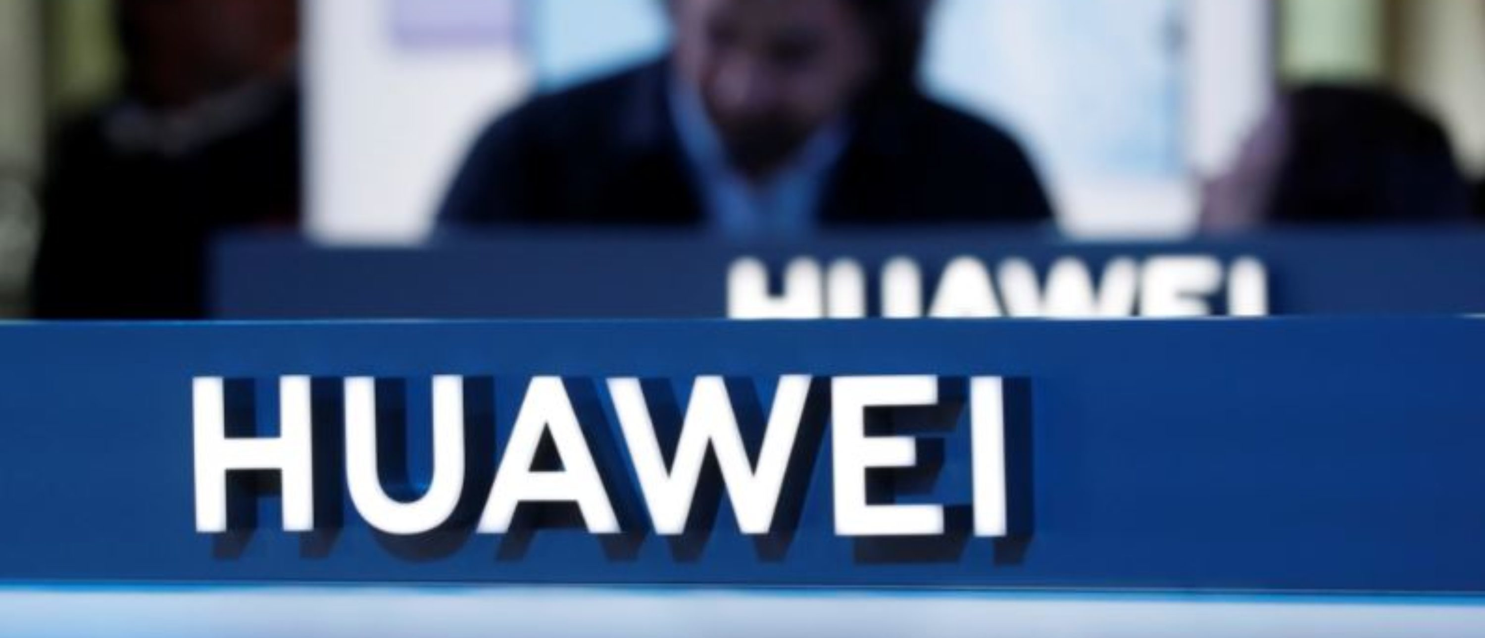 The Huawei logo is pictured on the company's stand during the 'Electronics Show - International Trade Fair for Consumer Electronics' at Ptak Warsaw Expo in Nadarzyn, Poland, May 10, 2019. Picture taken May 10, 2019. To match Special Report HUAWEI-POLAND/SPYING REUTERS/Kacper Pempel
