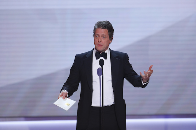 25th Screen Actors Guild Awards - Show - Los Angeles, California, U.S., January 27, 2019 - Actor Hugh Grant presents. REUTERS/Mike Blake