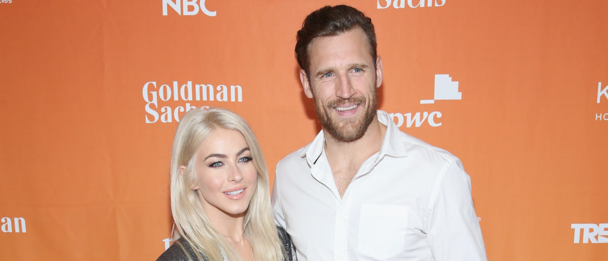 Julianne Hough (L) and Brooks Laich attend The Trevor Project's 2017 TrevorLIVE LA Gala at The Beverly Hilton Hotel on December 3, 2017 in Beverly Hills, California. (Photo by Phillip Faraone/Getty Images for The Trevor Project)