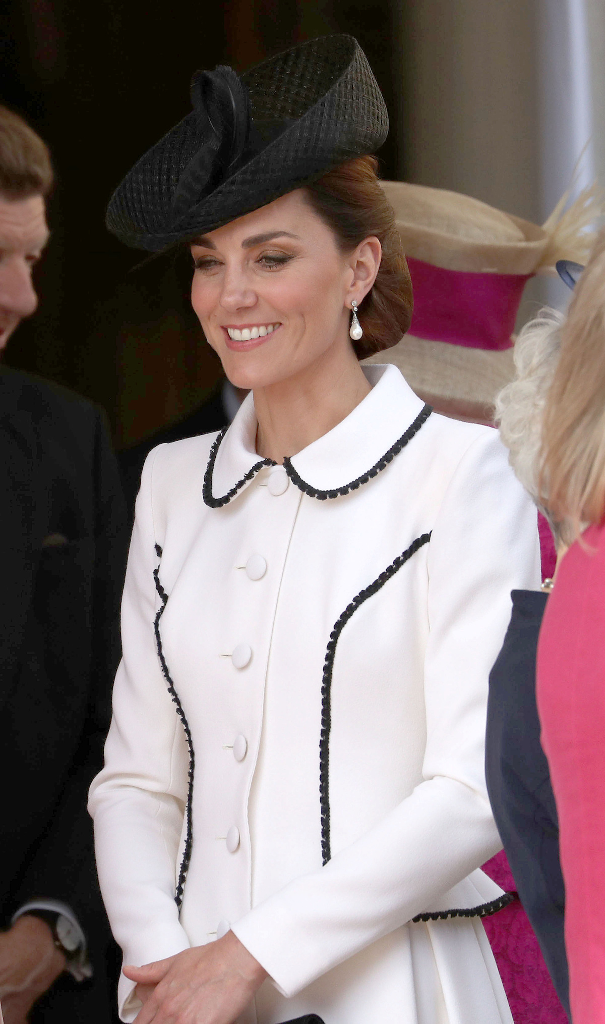 Britain's Catherine, Duchess of Cambridge, watches the Order of the Garter Service at St Georges's Chapel at Windsor Castle, Britain June 17, 2019. Steve Parsons/Pool via REUTERS