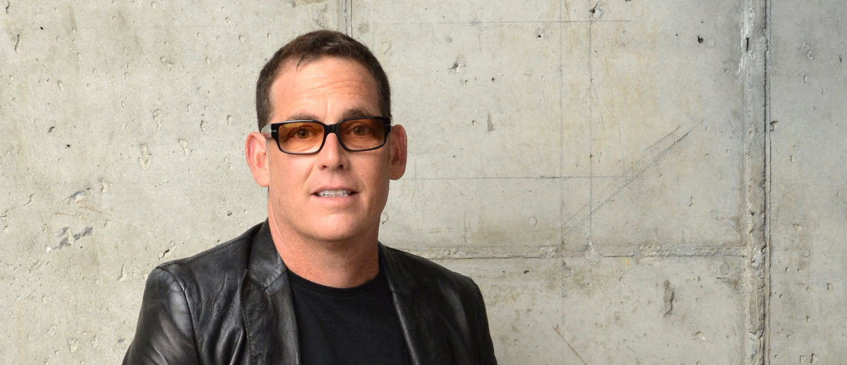 "Director Mike Fleiss from ""The Other One: The Long, Strange Trip of Bob Weir"" poses for the Tribeca Film Festival Getty Images Studio on April 23, 2014 in New York City. (Photo by Andrew H. Walker/Getty Images for the 2014 Tribeca Film Festival)"