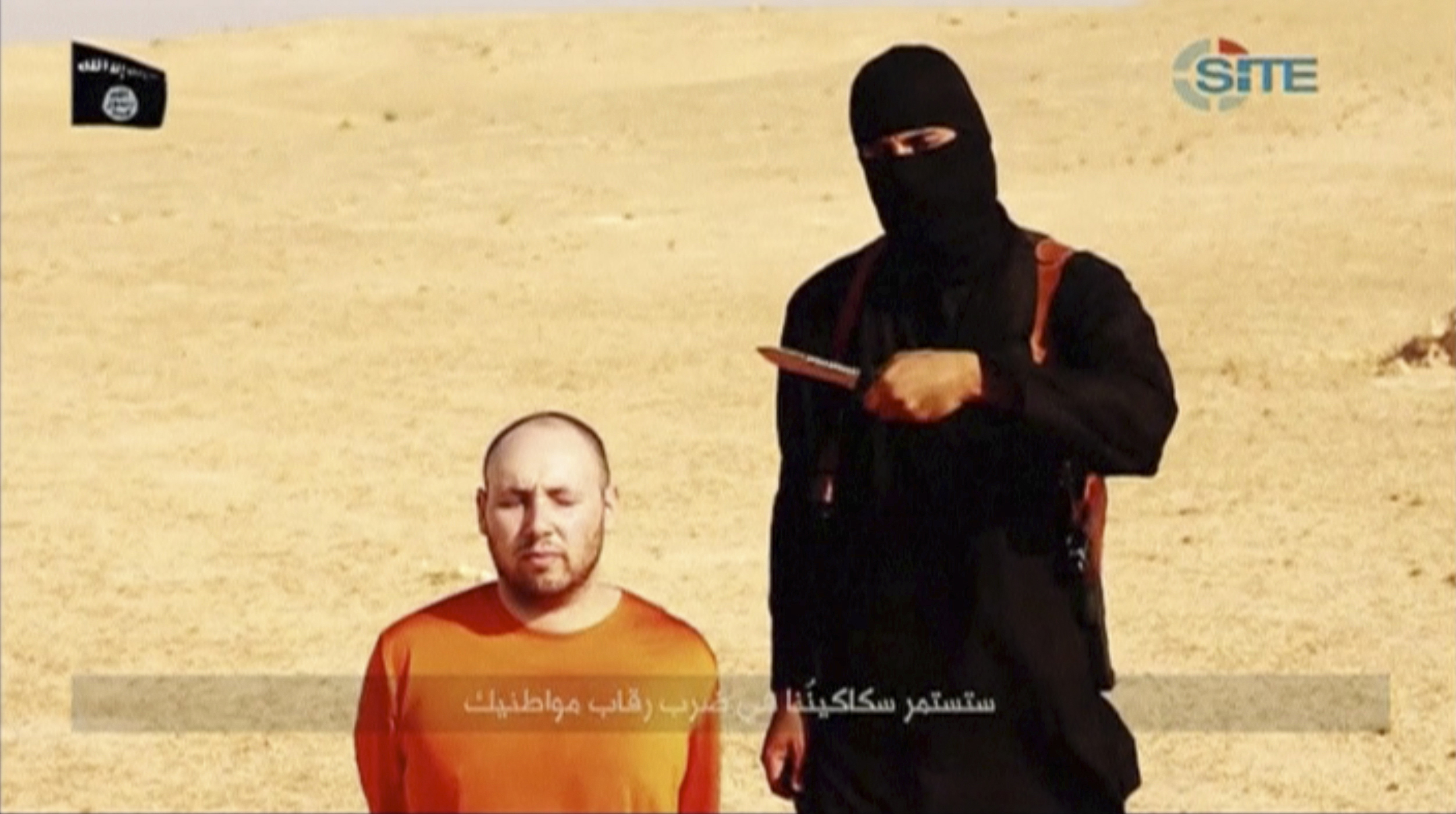 """Jihadi John"" aka Muhammad Jassim was a British citizen who joined ISIS and preformed the group's infamous on camera beheadings. (REUTERS/Reuters TV)"