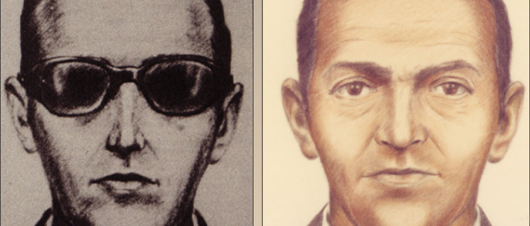 Artist sketches released by the FBI of a man calling himself D.B. Cooper, who vanished in 1971 with $200,000 in stolen cash after hijacking a commercial airliner over Oregon, U.S. FBI/Handout via Reuters THIS IMAGE HAS BEEN SUPPLIED BY A THIRD PARTY. IT IS DISTRIBUTED, EXACTLY AS RECEIVED BY REUTERS, AS A SERVICE TO CLIENTS. FOR EDITORIAL USE ONLY. NOT FOR SALE FOR MARKETING OR ADVERTISING CAMPAIGNS