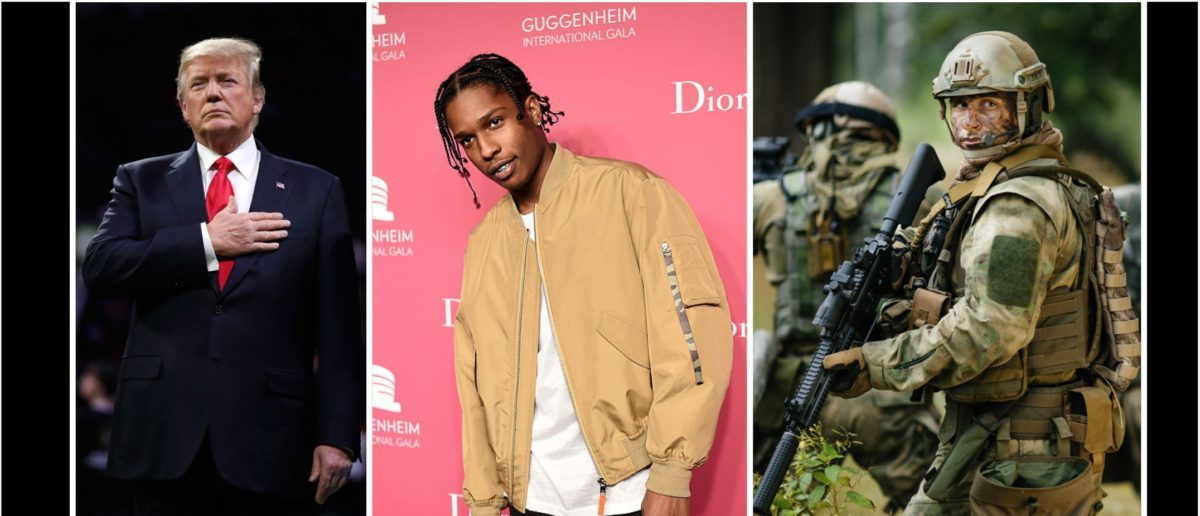Here's What A Military Rescue Mission Should Look Like If It's Necessary To Save A$AP Rocky