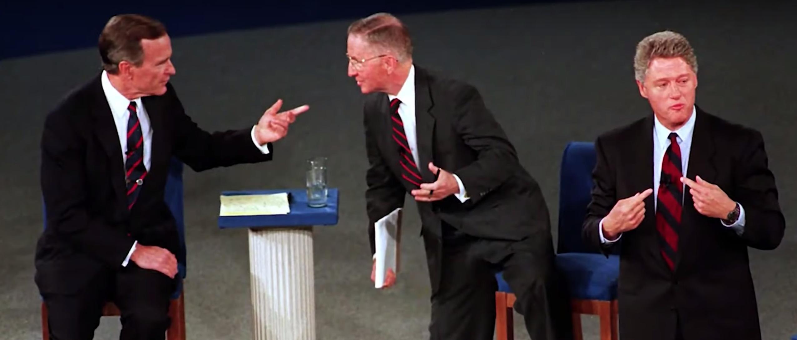 Ross Perot at 1992 debate