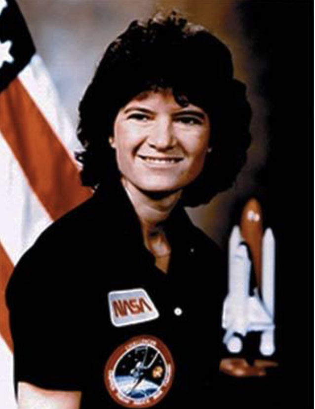 Sally Ride was the first American woman to go into space on June 18, 1983. (Screenshot/NASA)