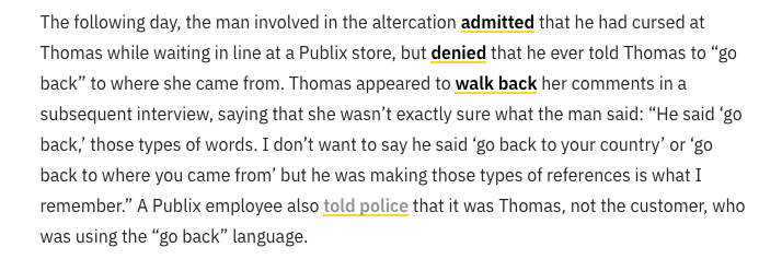 This is Snopes' updated version of the events that took place at Publix. (Snopes)