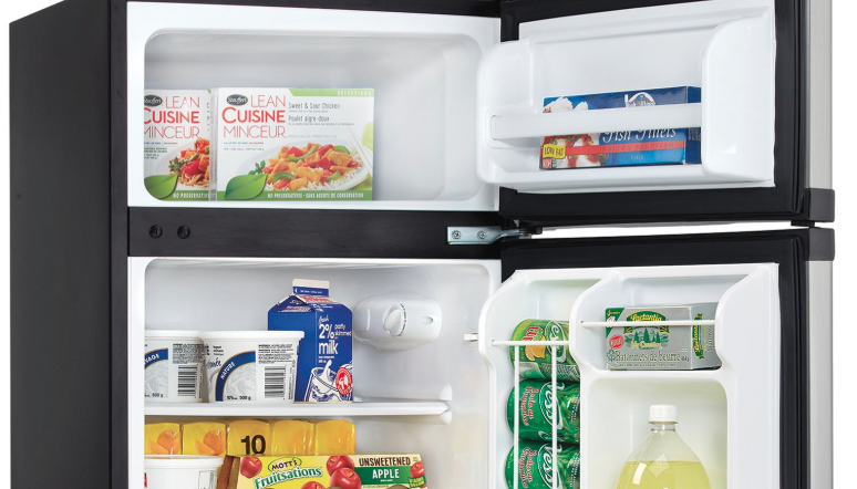 Dorm Size Mini Fridge Freezer Is Discounted By Over 100
