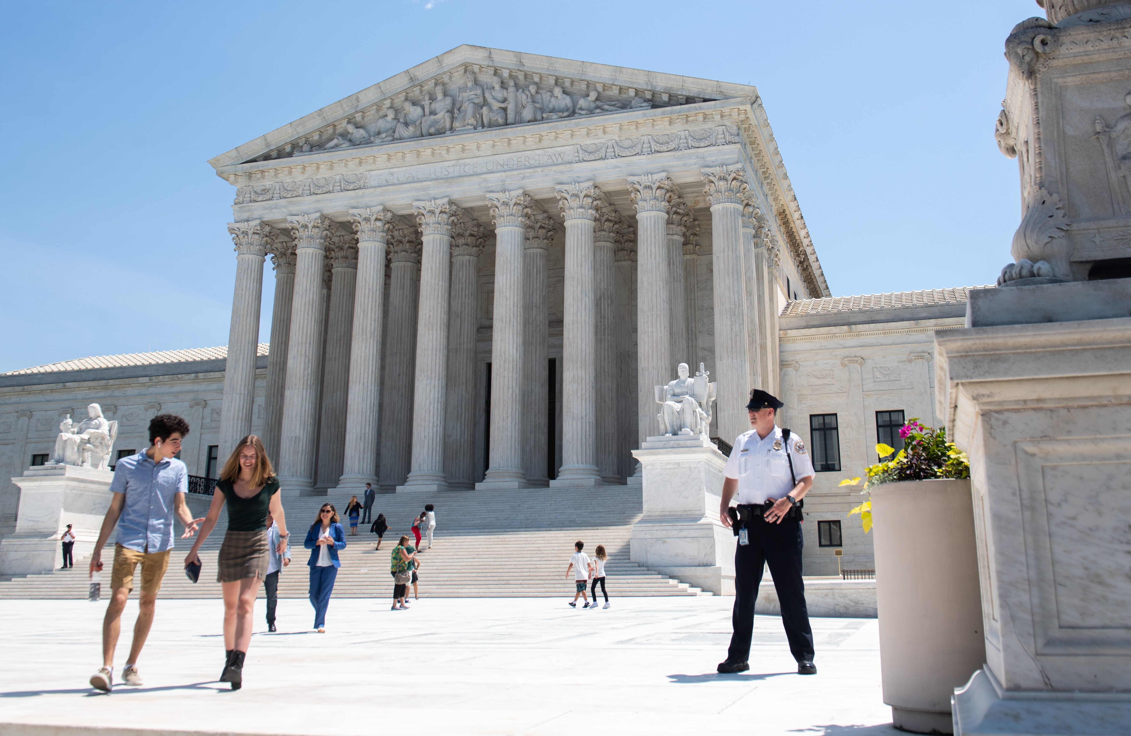 The Supreme Court as seen on June 24, 2019. (Saul Loeb/AFP/Getty Images)