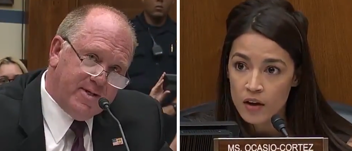 Former ICE Director Tom Homan Leaves Ocasio-Cortez Speechless On Immigration | The Daily Caller