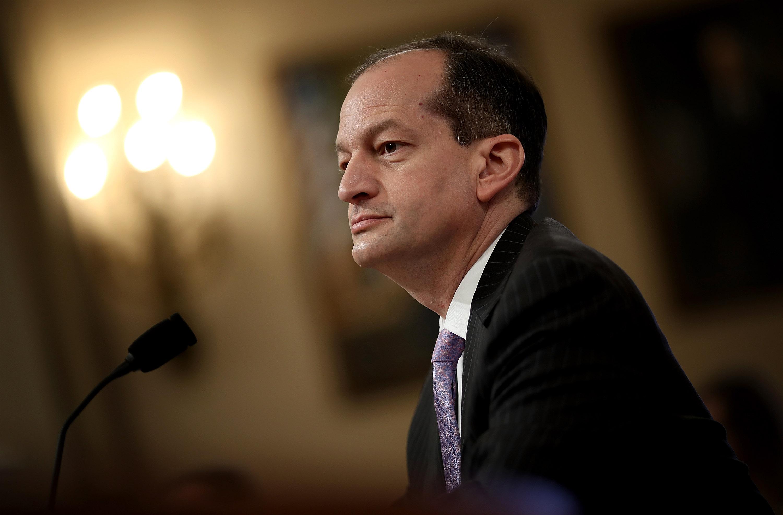 U.S. Labor Secretary Alexander Acosta (Win McNamee/Getty Images)