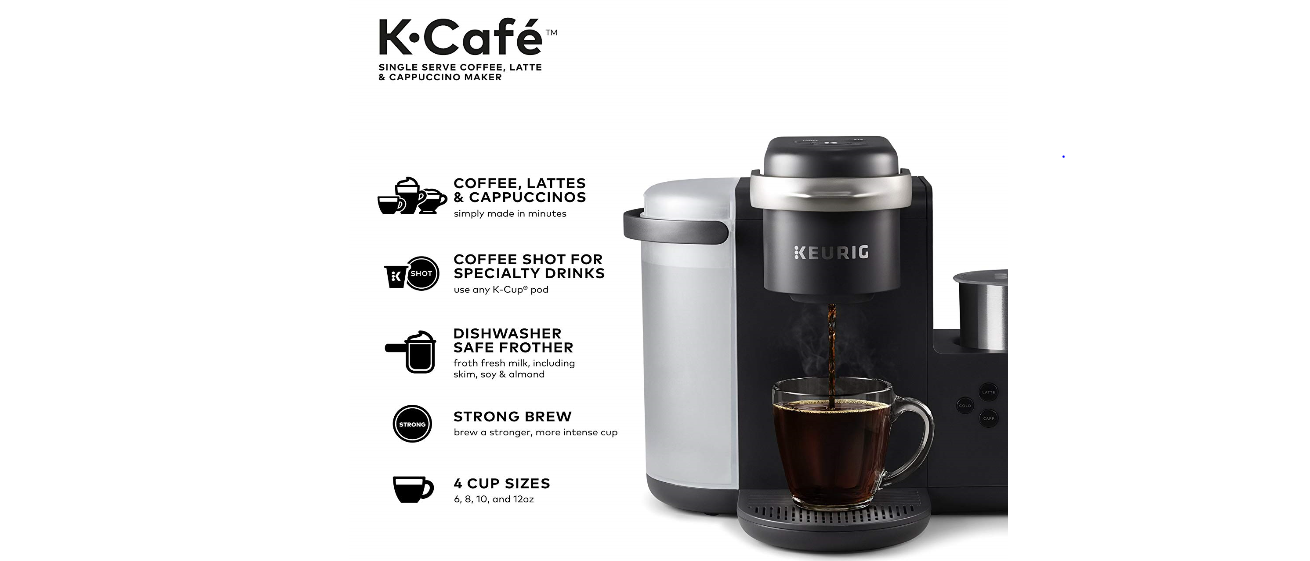 Amazon Prime Day Deal Keurig K Cafe Only 109 99 The