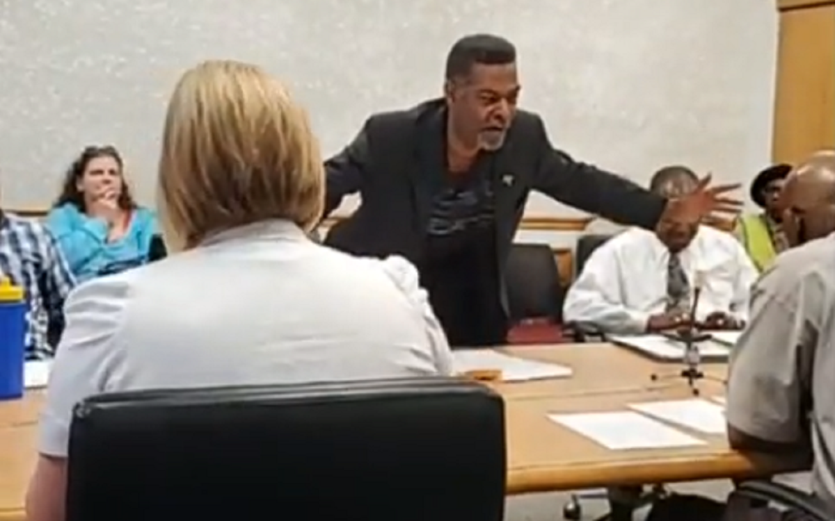 Flint Councilman Eric Mays, July 2, 2019 / Government video