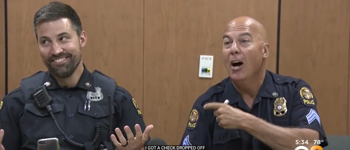 'A Bittersweet Day': Retiring Police Sergeant Works One Of His Last Shifts With His Three Sons   The Daily Caller
