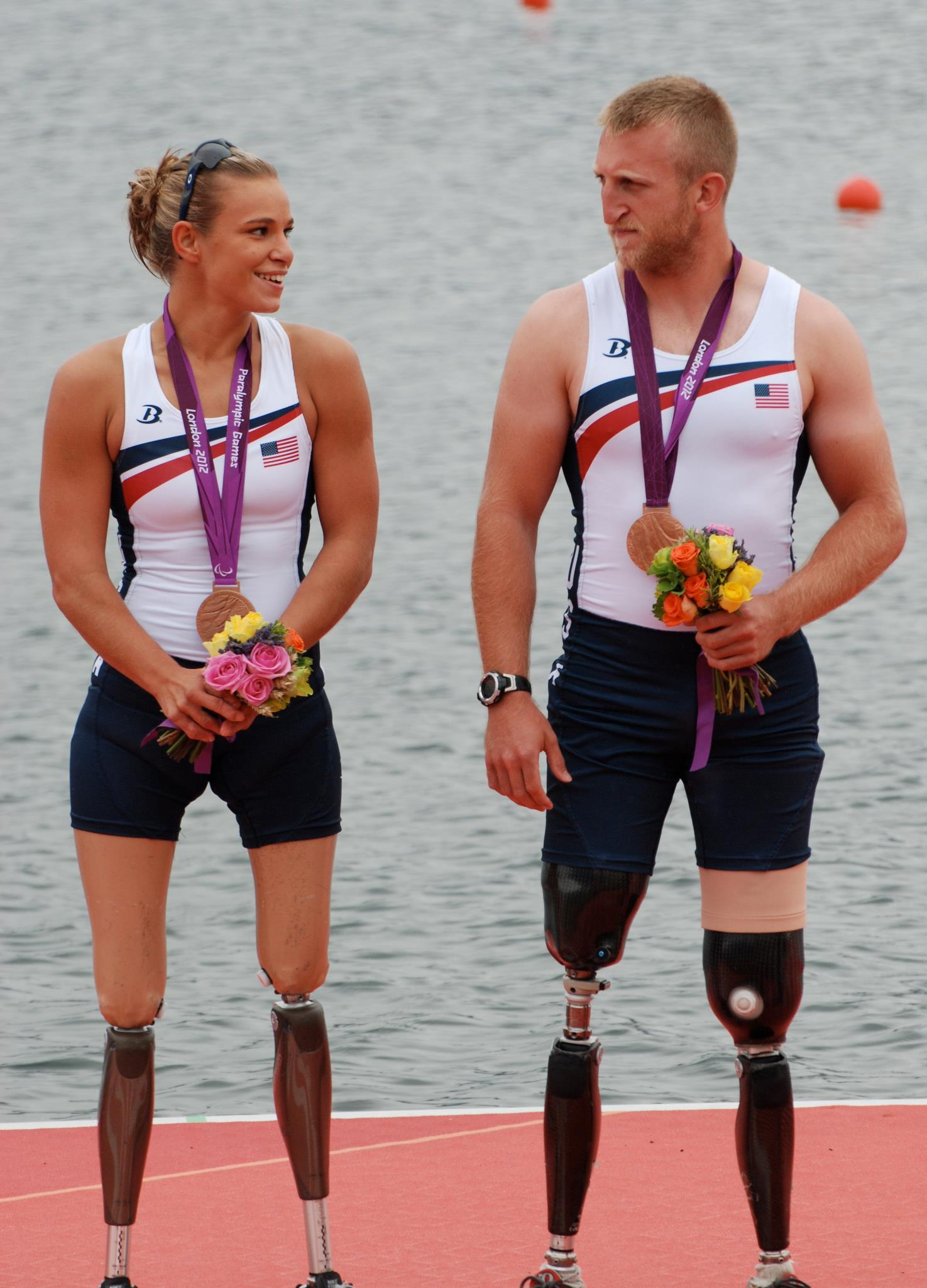 Jones takes the bronze medal at the Paralympic Games for rowing/press release