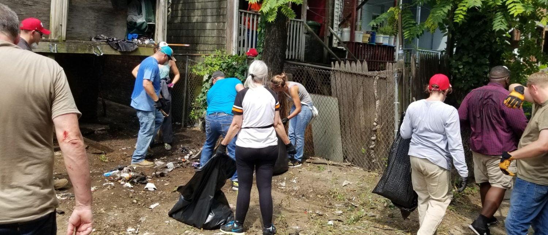 Volunteers Cleaning Up Baltimore Save Overdosing Men