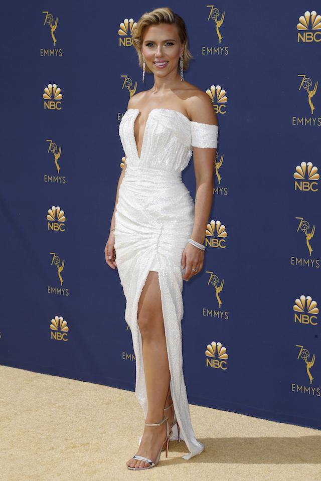 70th Primetime Emmy Awards Arrivals Los Angeles, California, U.S., 17/09/2018 ñ Scarlett Johansson. REUTERS/Kyle Grillot