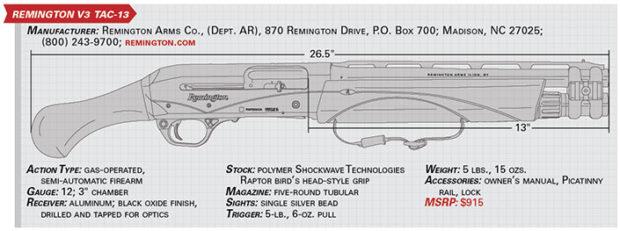 Gun Test: Remington V3 Tac-13 | The Daily Caller