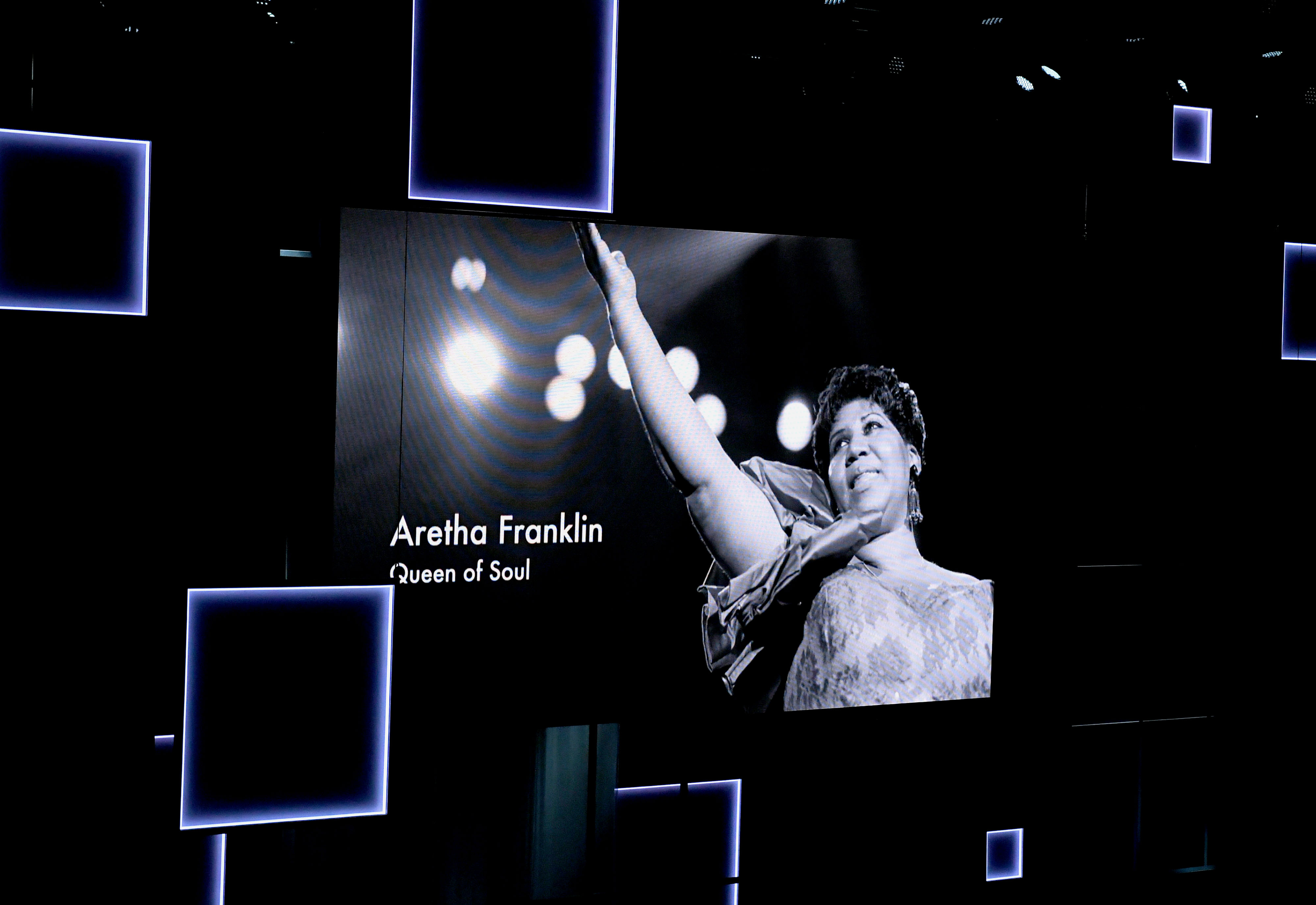 Aretha Franklin honored at the 50th NAACP Image Awards at Dolby Theatre on March 30, 2019 in Hollywood, California. (Photo by Kevin Winter/Getty Images)
