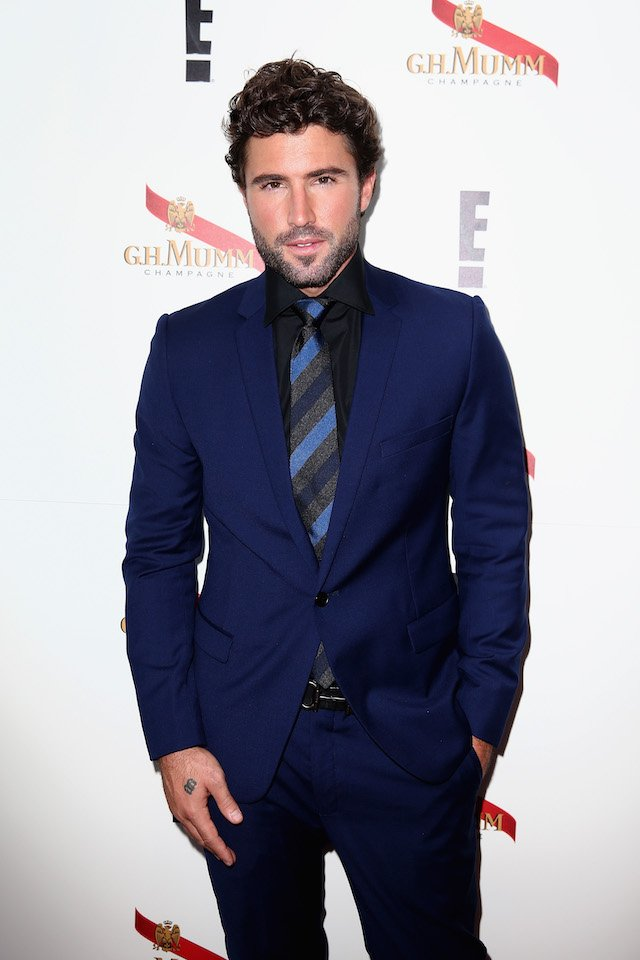 Brody Jenner poses in the Mumm Marquee on Oaks Day at Flemington Racecourse on November 5, 2015 in Melbourne, Australia. (Photo by Cameron Spencer/Getty Images for the VRC)