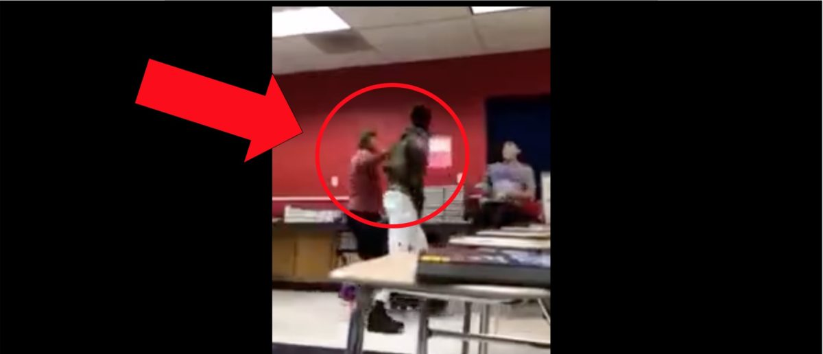 Bully Spits On And Pushes An Injured Kid. He Gets Hit With Some Instant Karma In Unbelievable Video