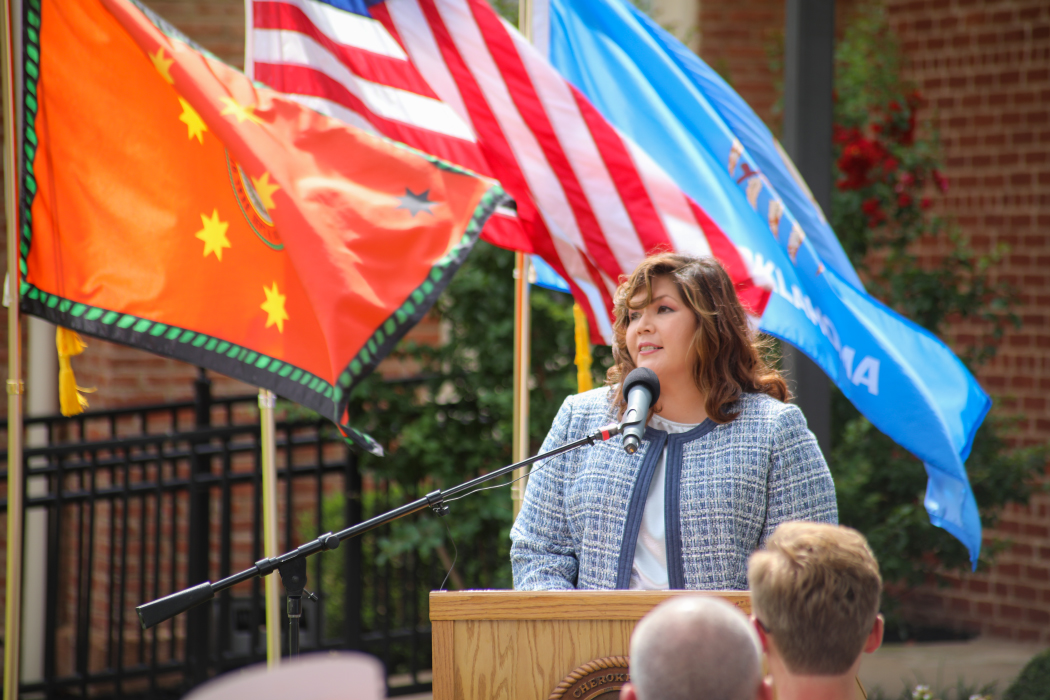 The Cherokee nation is seeking to appoint Kim Teehee as a Congressional delegate. (Cherokee Nation/Press Kit)