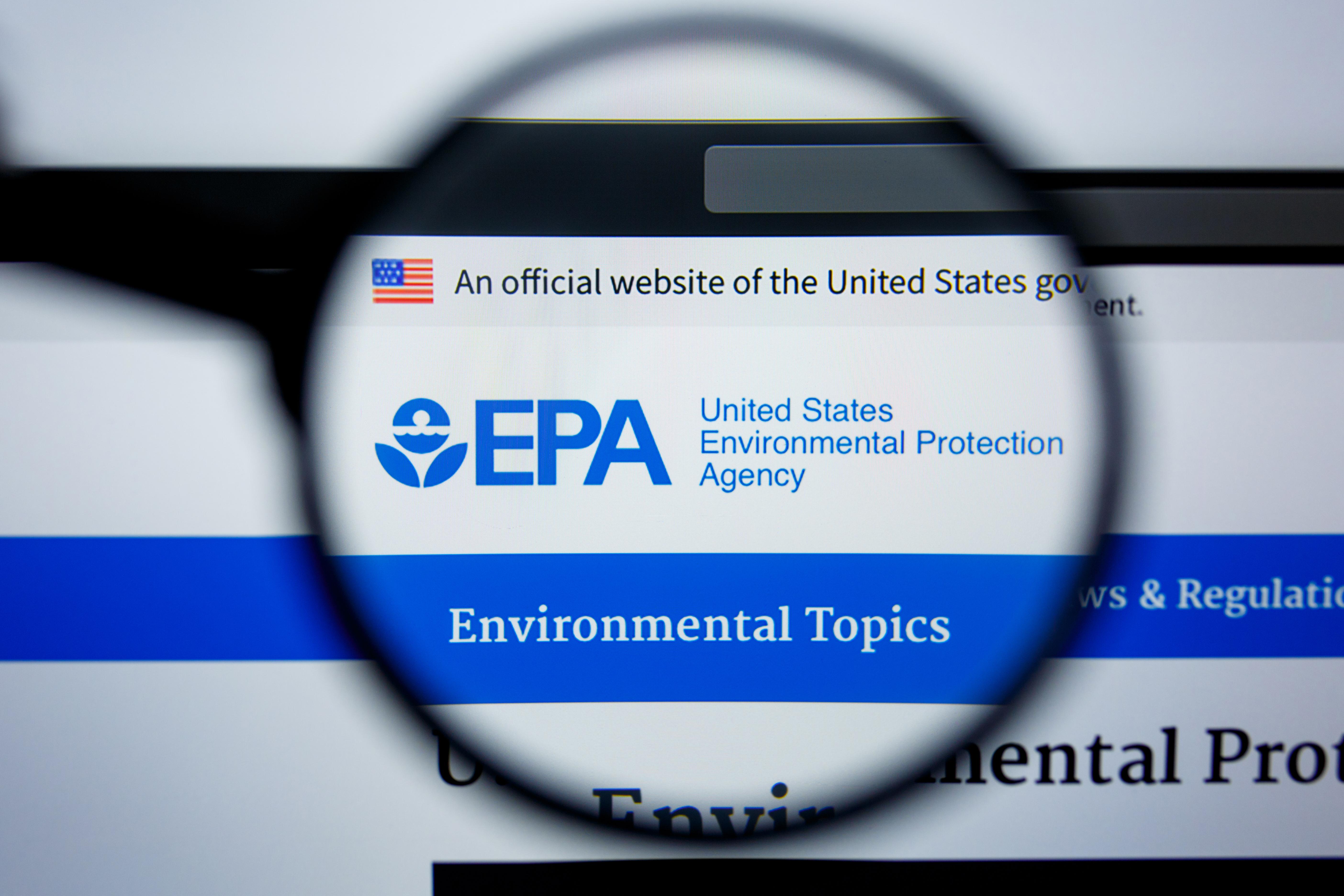EPA. Shutterstock
