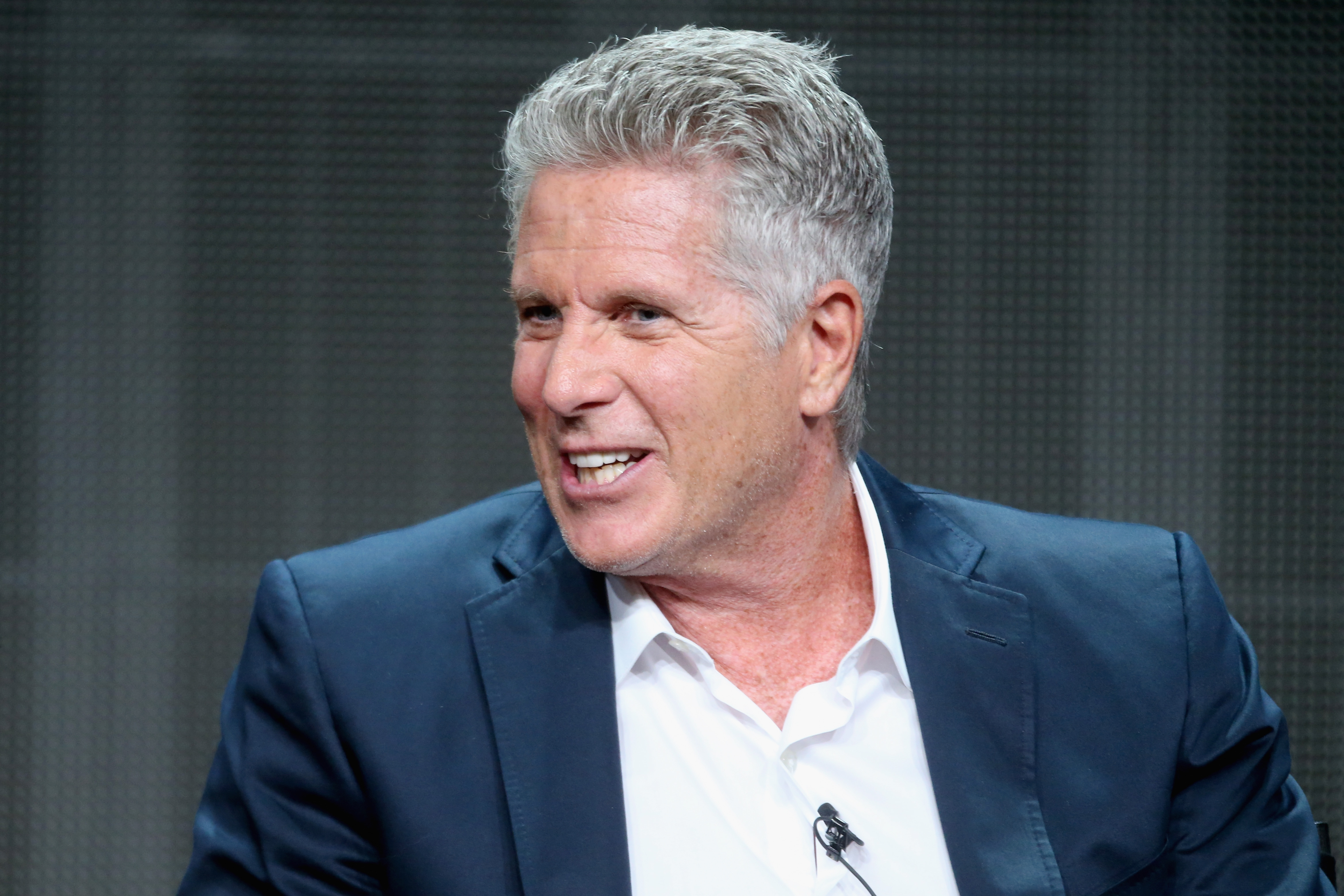TV personality Donny Deutsch speaks onstage during the USA Networks' 'donny!' panel discussion at the NBCUniversal portion of the 2015 Summer TCA Tour at The Beverly Hilton Hotel on August 12, 2015 in Beverly Hills, California. (Frederick M. Brown/Getty Images)