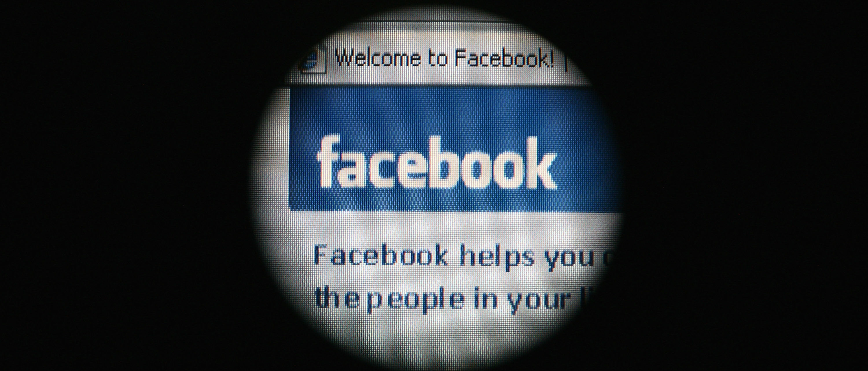 In this photo illustration the Social networking site Facebook is displayed on a laptop screen. (Photo by Dan Kitwood/Getty Images)