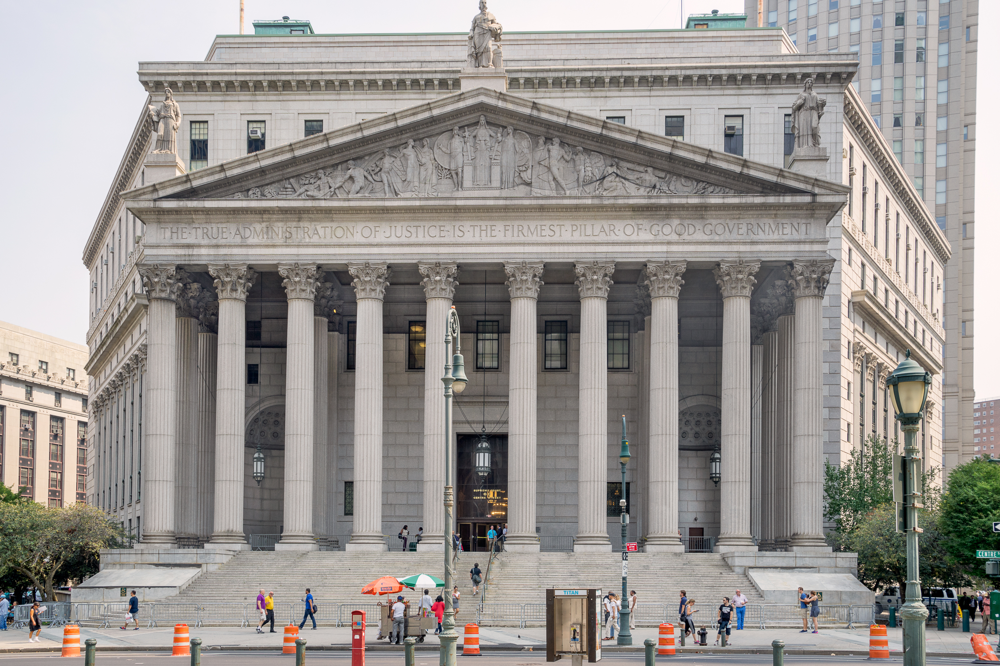 Gordon Bell, Shutterstock. New York, USA. The Appellate Divisions of the Supreme Court of the State of New York are the intermediate appellate courts in New York State