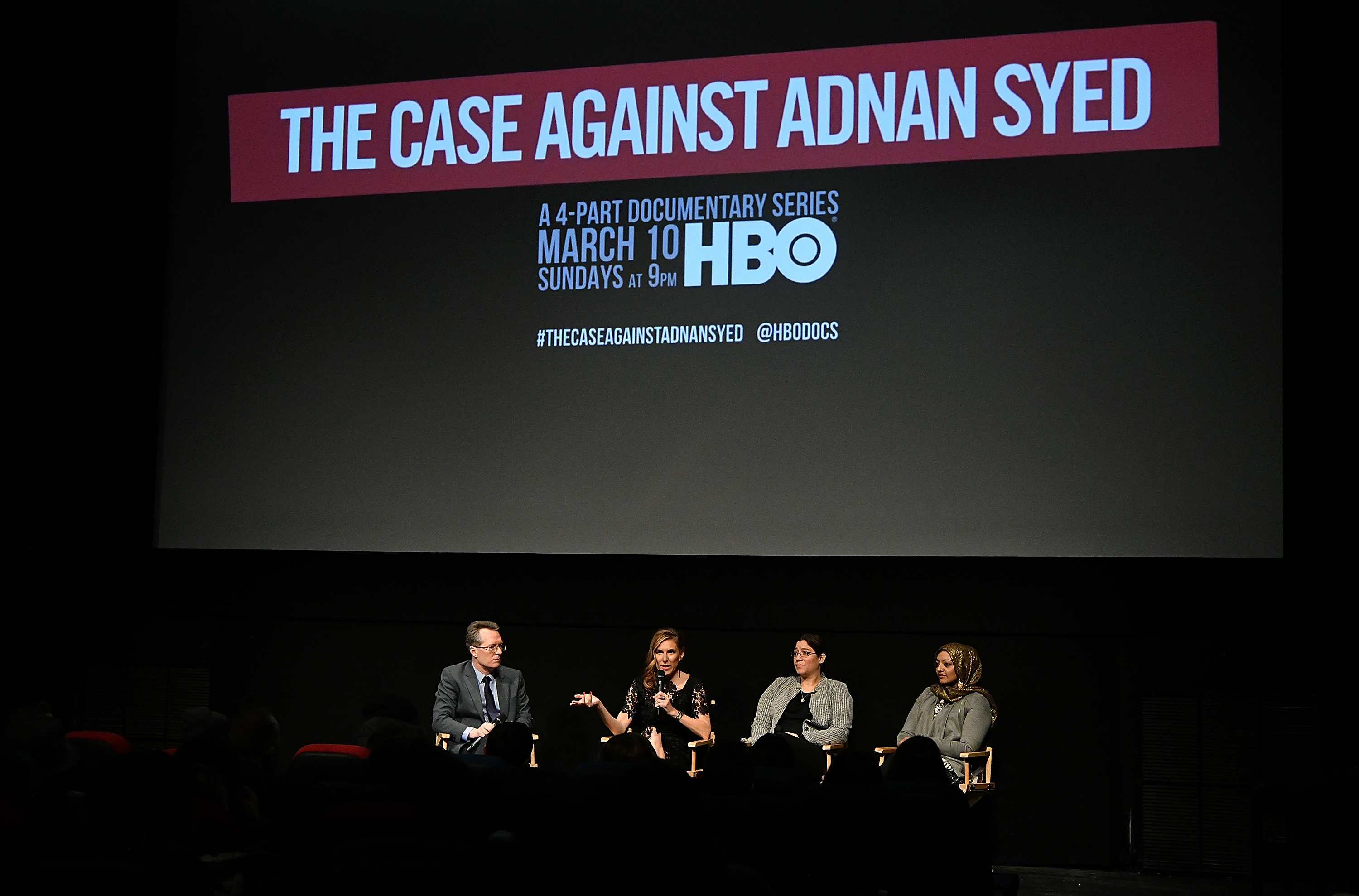 """The New York premiere of HBO's """"The Case Against Adnan Syed"""" on February 26, 2019. (Slaven Vlasic/Getty Images for HBO)"""