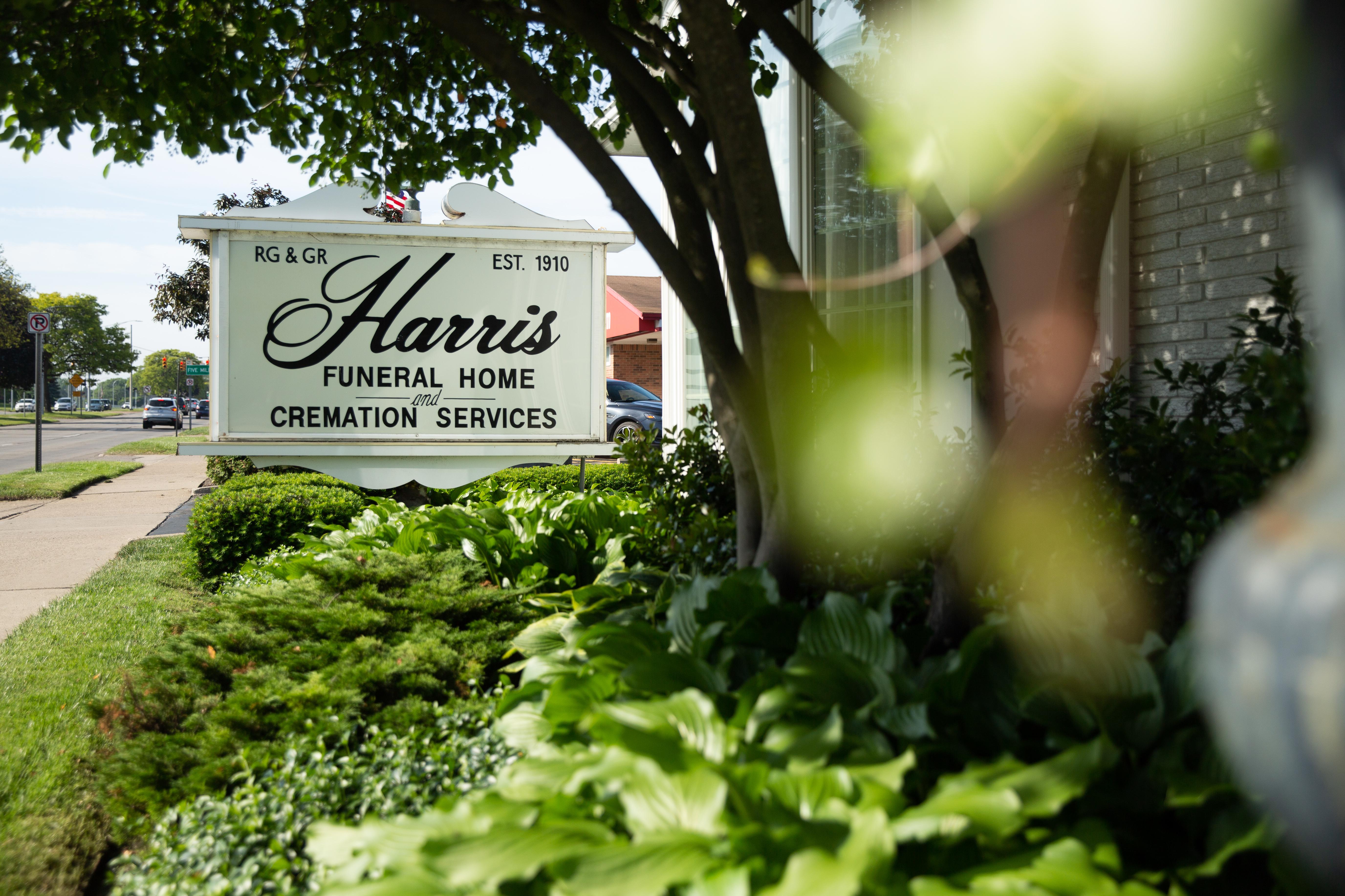 R.G. & G.R. Harris Funeral Homes in Garden City, Michigan. (Alliance Defending Freedom)