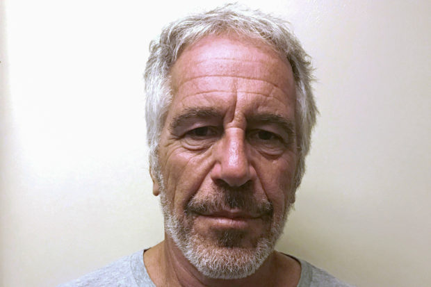 Jeffrey Epstein appears in a photograph taken for the sex offender registry on March 28, 2017. (Handout via Reuters)