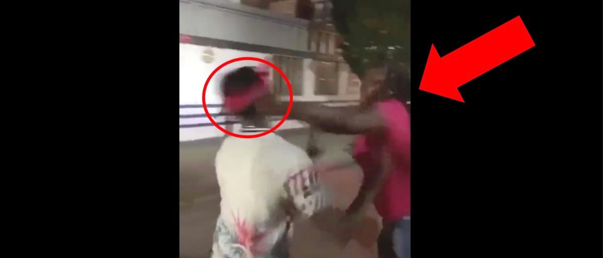 Guy Talks Trash To A Woman, Immediately Gets Knocked Out In Awesome Video