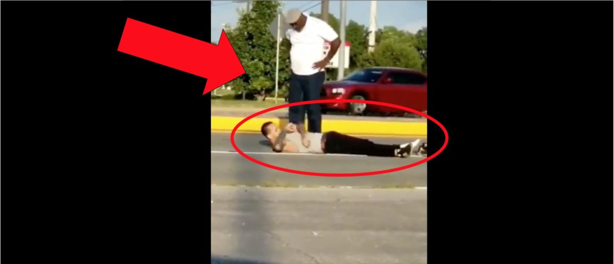 Older Guy Obliterates Young Dude With Brutal Punch In Viral Video
