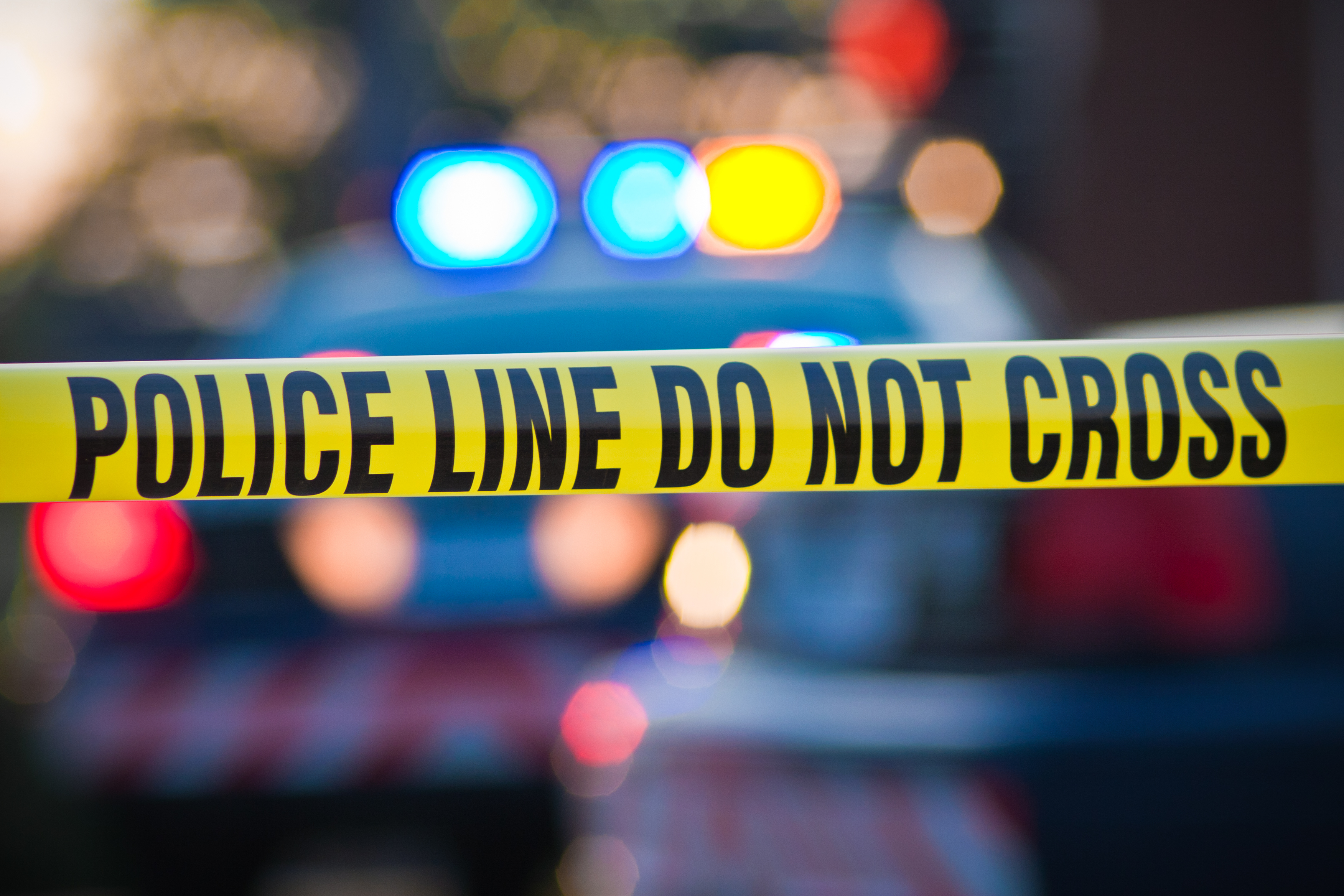 Police Tape. Shutterstock
