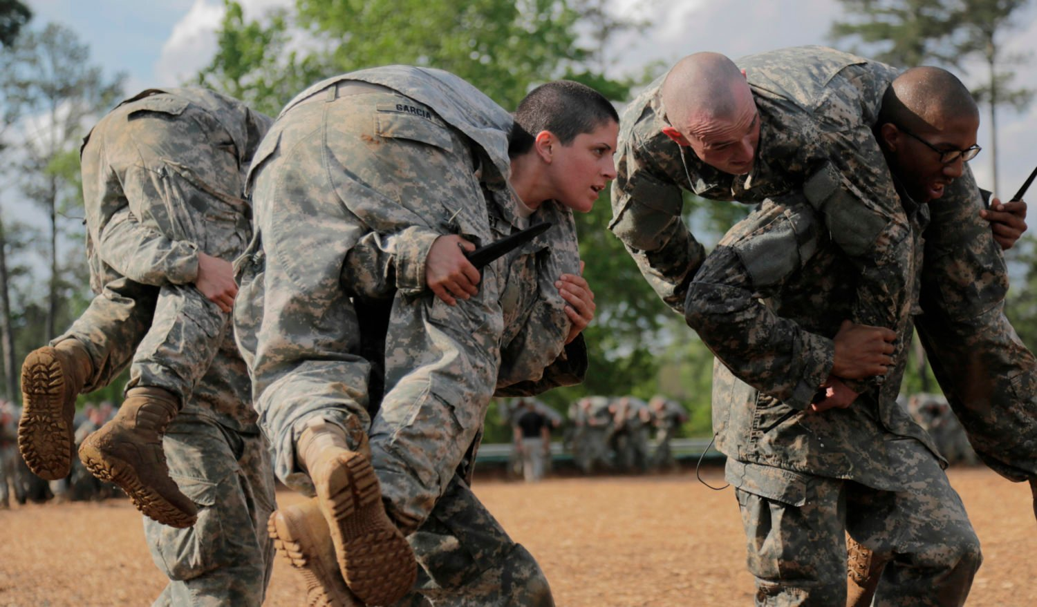 The Inside Story Of How The Army Reduced Standards To Get Women Through Ranger Training