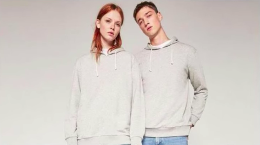 Pieces from Zara's gender-neutral clothing line. (Youtube/Wochit News)