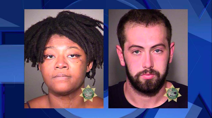 Leopold A. Hauser, 22, and Adebisi A. Okuneye, 23/Fox 12 screenshot