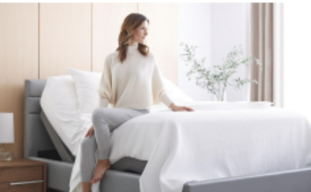 Designed to move with your day, Lineal enhances where comfort lives — at home, in bed. Pair with all Saatva mattresses for the perfect sleep experience.