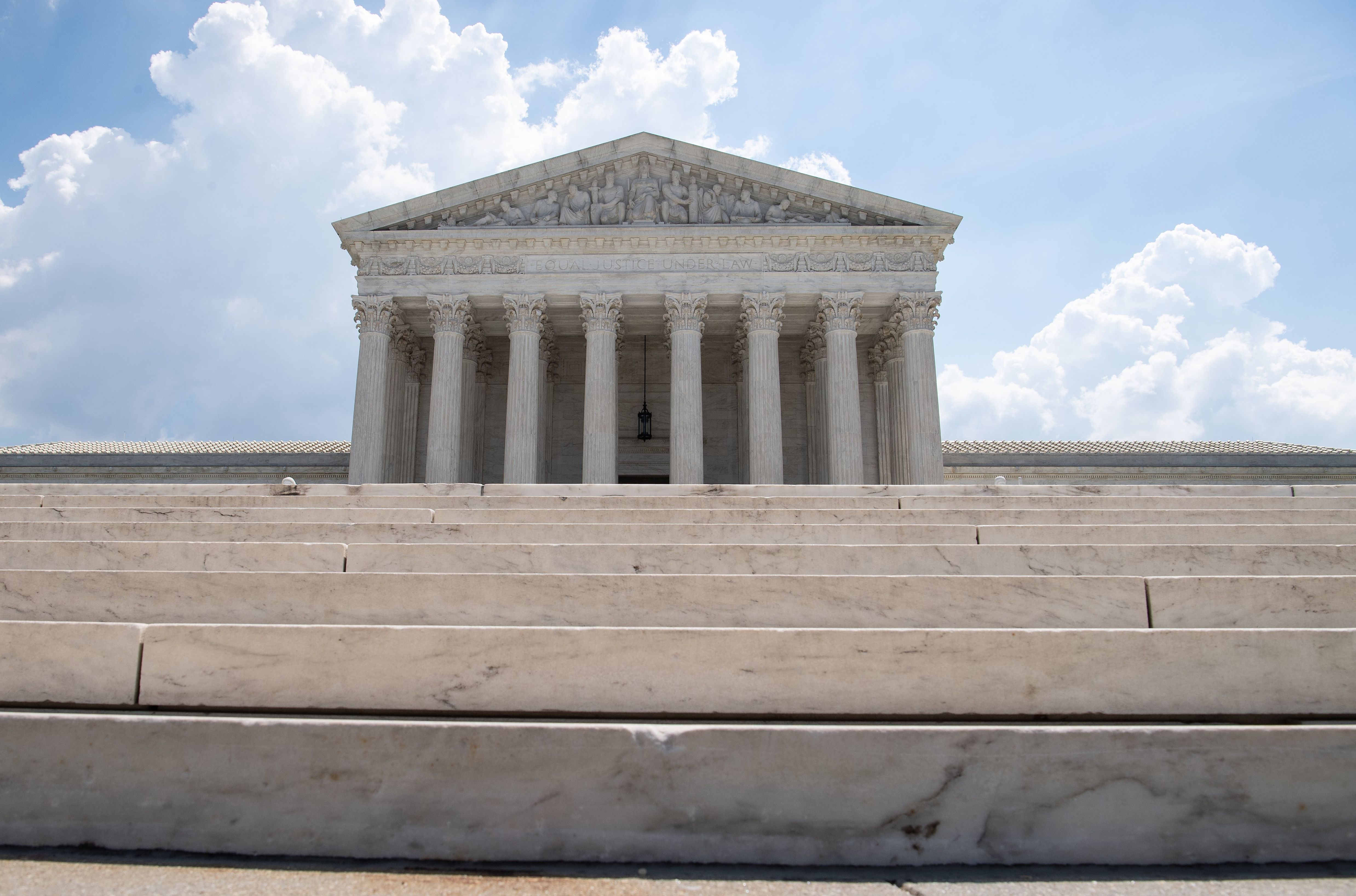 The Supreme Court as seen on June 27, 2019. (Nicholas Kamm/AFP/Getty Images)