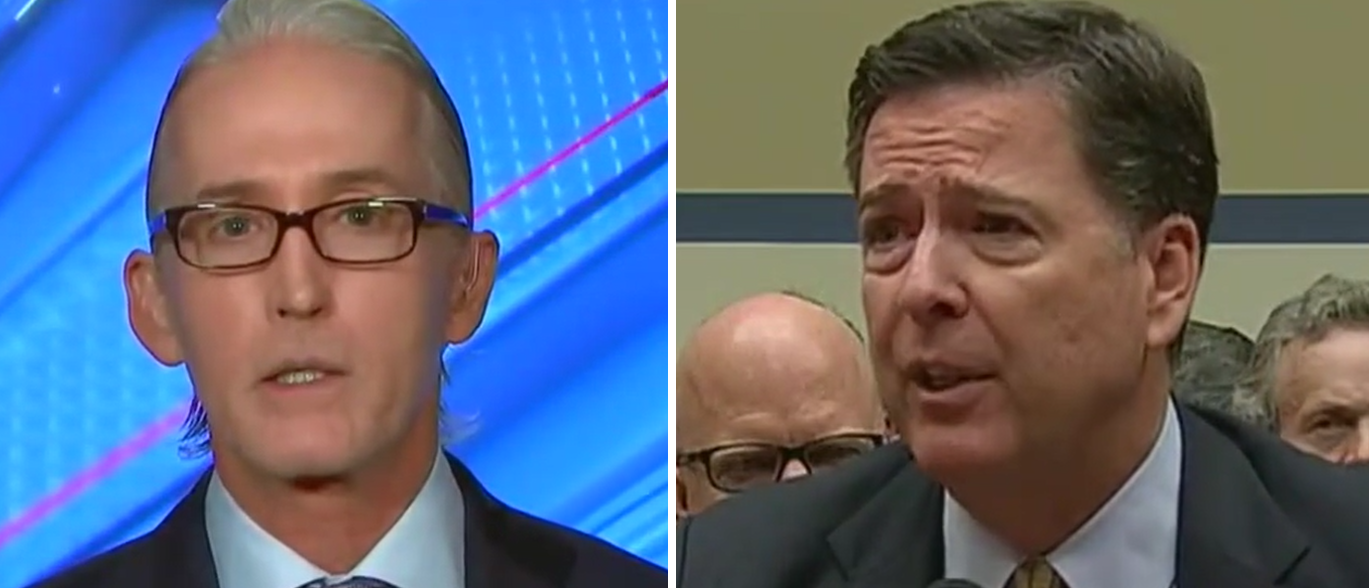 Trey Gowdy Has Bad News For People Who Think James Comey Will Be Indicted