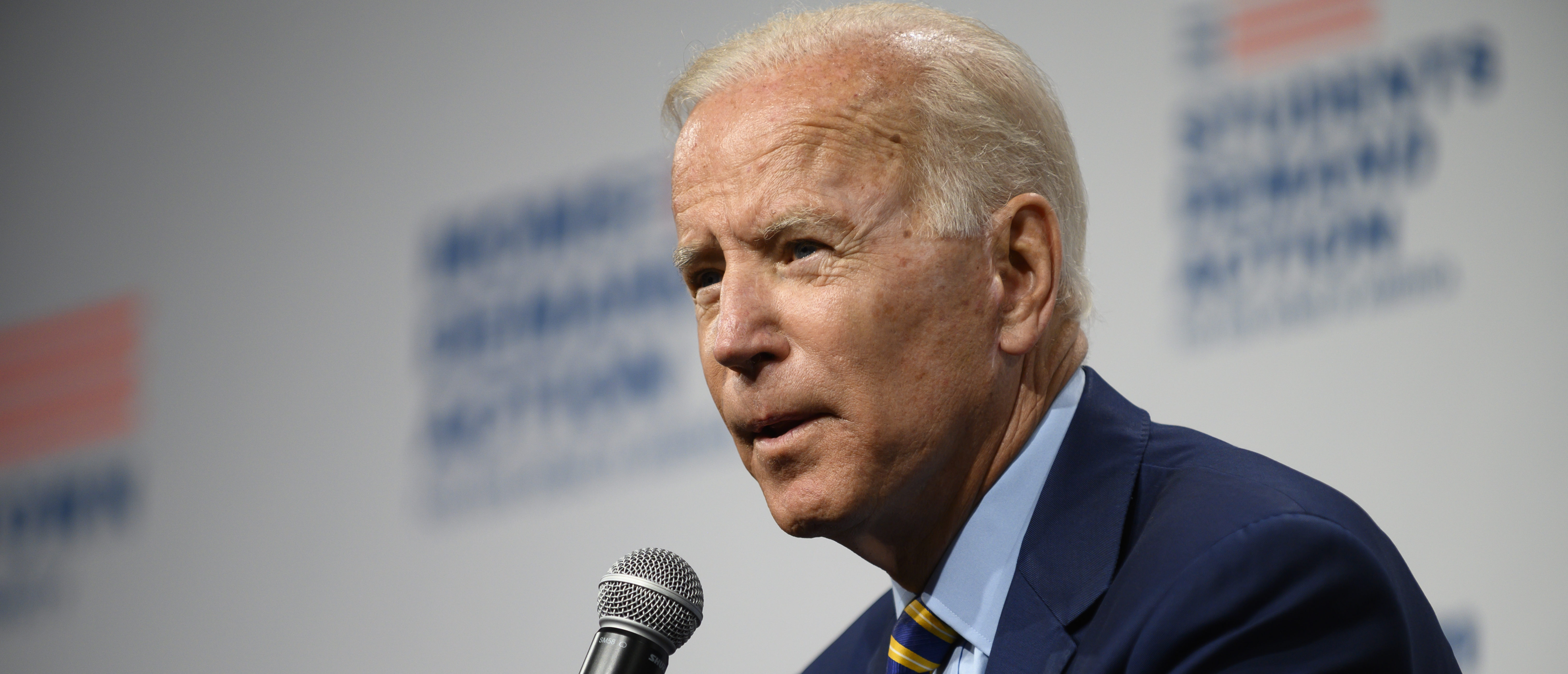 Joe Biden Forgets Which State He's In During New Hampshire Campaign Stop