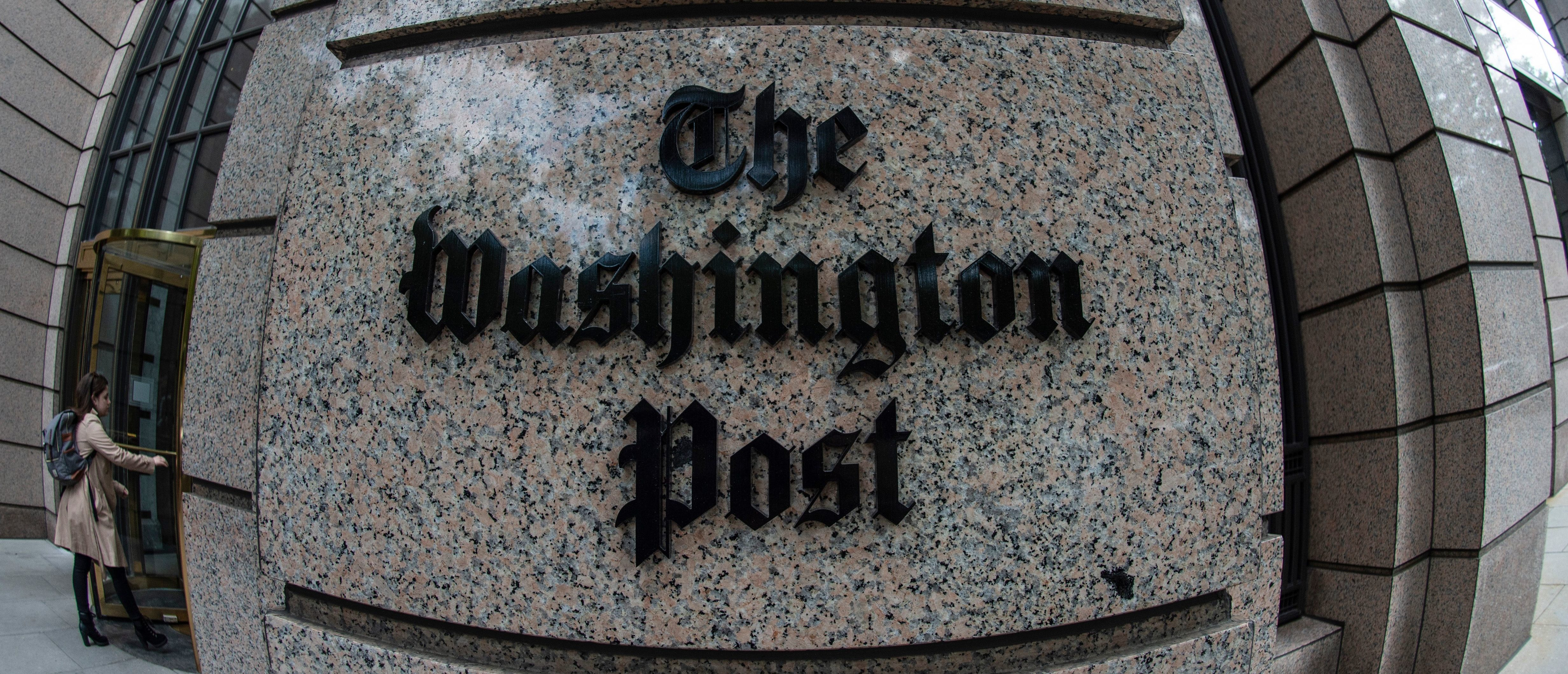 Washington Post Publishes, Retracts Attempt To Link Conservative Author To White Nationalism