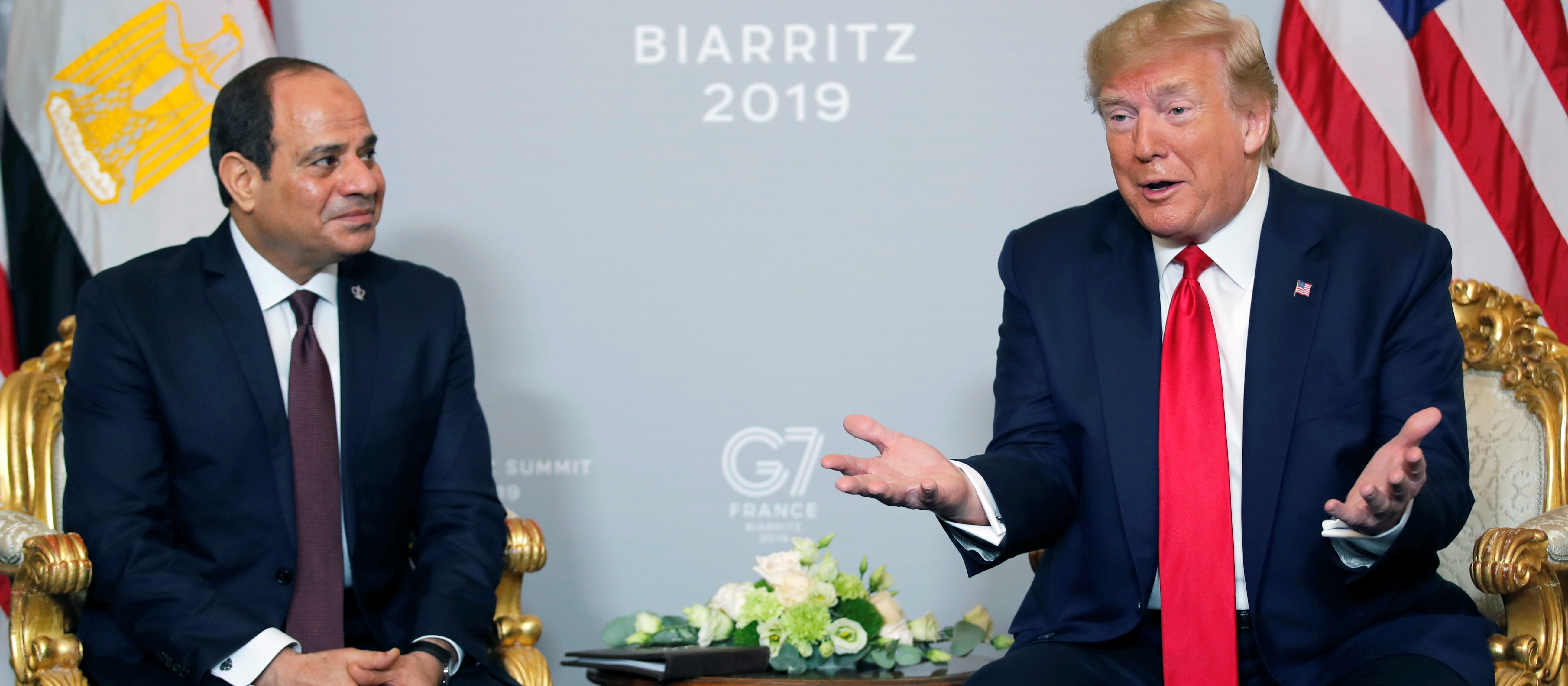 Report: Trump Called Out, 'Where's My Favorite Dictator' When Looking For Egypt's El-Sisi