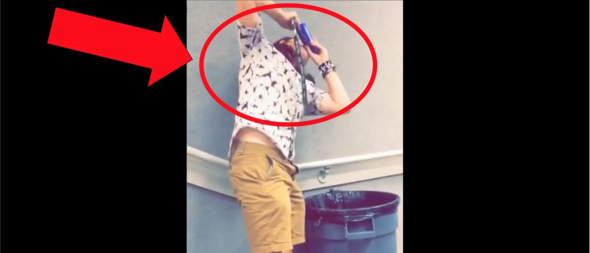Guy Shotguns A Beer During Class At Alabama. What Happens To The Professor Is 100% Anti-American