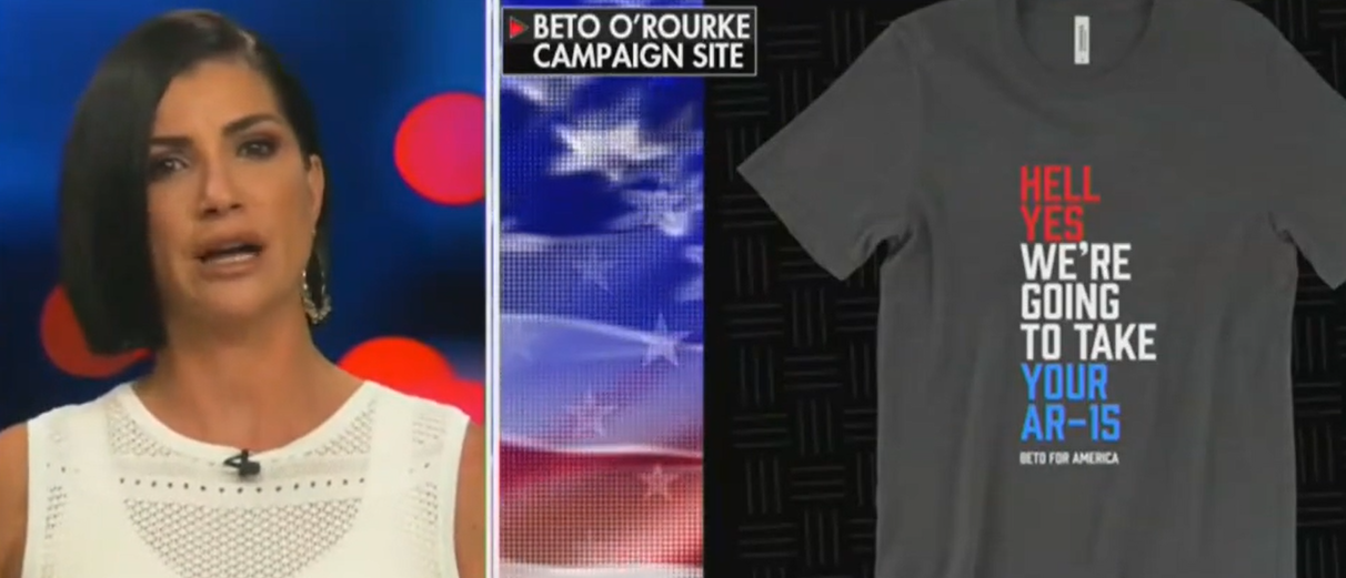 Dana Loesch Blasts Beto Campaign For Selling T-Shirt With 'Threat' To 'Forcibly Steal' Americans' Property