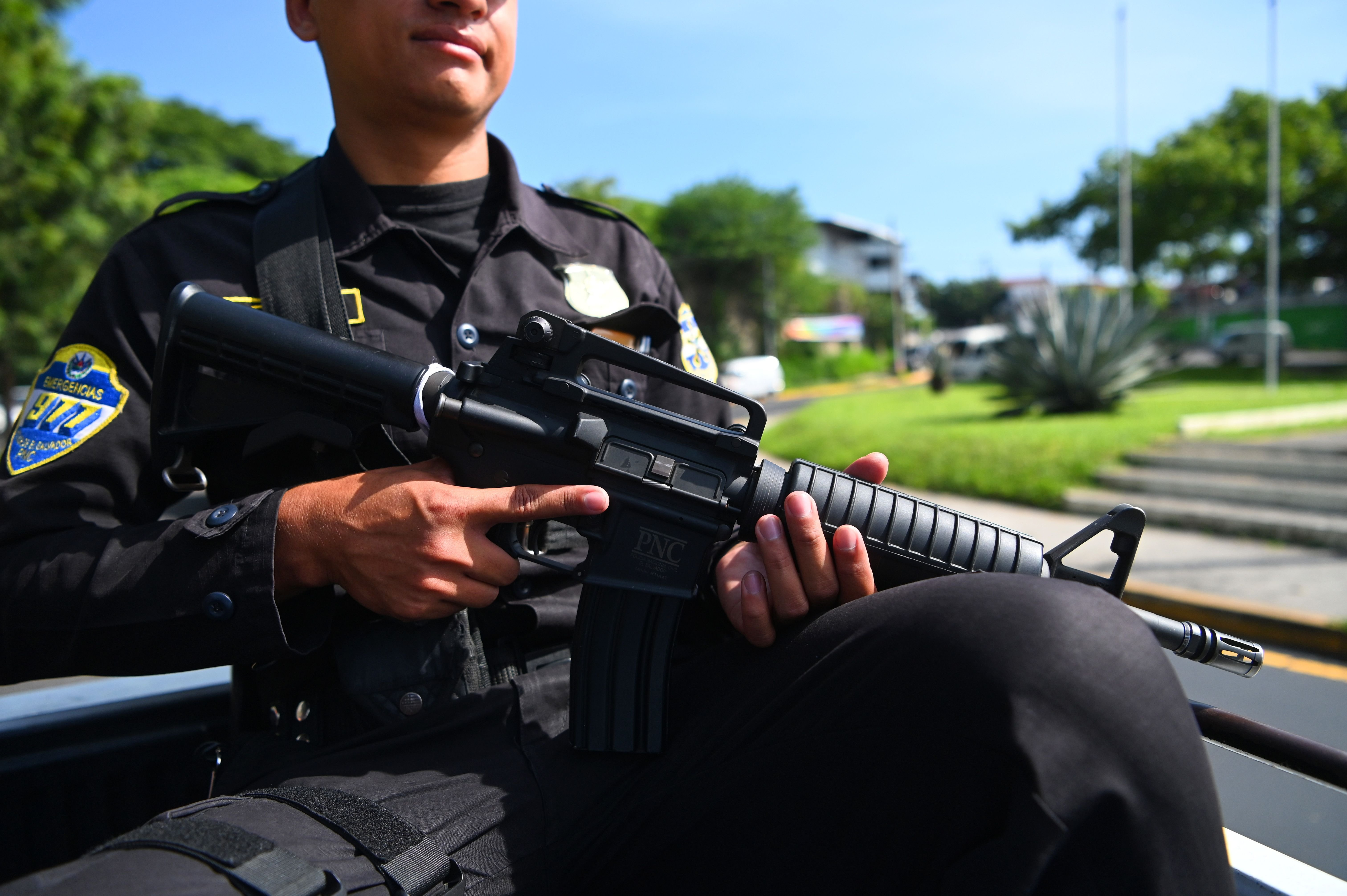EL SALVADOR-SECURITY-VIOLENCE-GANGS-OPERATION